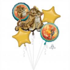 Lion King Bouquet Foil Balloons