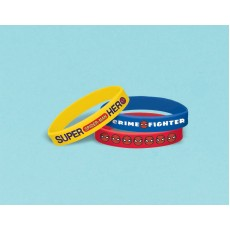 Spider-Man Webbed Wonder Rubber Bracelet Favours