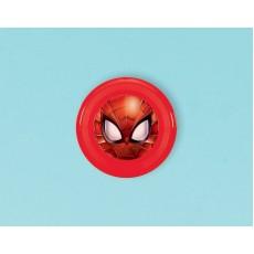 Spider-Man Webbed Wonder Flying Discs Favour 10cm