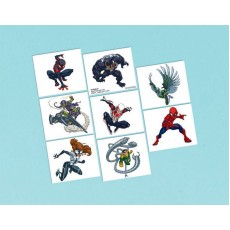 Spider-Man Webbed Wonder Tattoo Favours