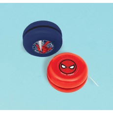Spider-Man Webbed Wonder Yoyo Favours 3.6cm Pack of 12