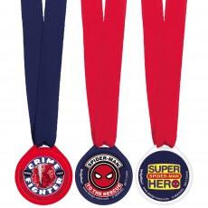 Spider-Man Webbed Wonder Medal Awards Pack of 12