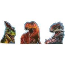 Jurassic World Finger Puppet Favours Pack of 12