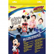Mickey Mouse On The Go Wall & Table Decorating Kits Pack of 10