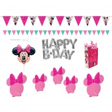 Minnie Mouse Happy Helpers Scene Setter Wall & Table Decorating Kits