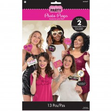 Bachelorette Photo Props Pack of 13