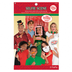 Christmas Selfie Scene Photo Prop