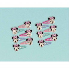Minnie Mouse Party Supplies - Happy Helpers Hair Clips