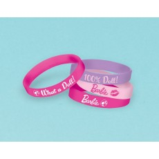 Barbie All Doll'd Up Rubber Bracelets Favours