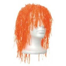 Orange Fun Wig i Head Accessorie