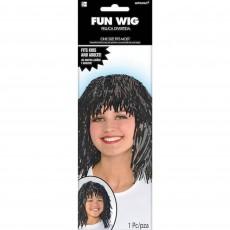 Black Party Supplies - Fun Wig