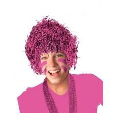 Pink Fun Wig Costume Accessorie