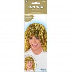 Gold Party Supplies - Fun Wig