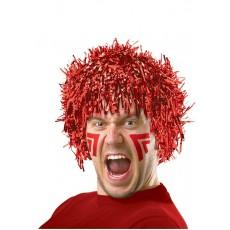 Red Fun Wig Head Accessorie