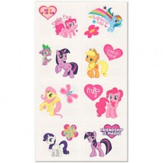 My Little Pony Friendship Tattoos Favours