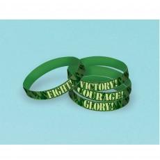 Camouflage Rubber Bracelet Favours