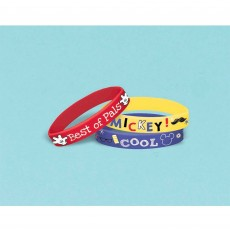 Mickey Mouse On The Go Rubber Bracelet Favours