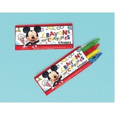 Mickey Mouse On The Go Mini Crayon Favours