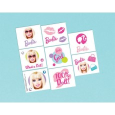 Barbie All Doll'd Up Tattoo Favours