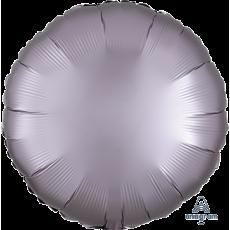 Grey Satin Luxe Greige Standard HX Foil Balloon