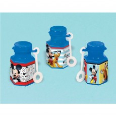 Mickey Mouse On The Go Mini Bubbles Pack of 12