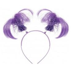 Purple Party Supplies - Ponytail Headbopper
