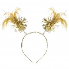 Gold Party Supplies - Ponytail Headbopper