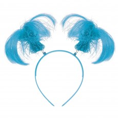 State of Origin Light Blue Ponytail Headbopper Head Accessorie