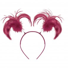 State of Origin Burgundy Ponytail Headbopper Head Accessorie