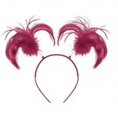 State of Origin Party Supplies - Ponytail Headbopper Burgundy