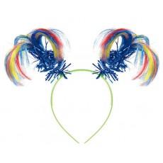 Rainbow Ponytail Headbopper Head Accessorie
