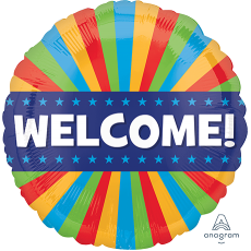 Welcome Party Decorations - Foil Balloon Standard HX Blitz