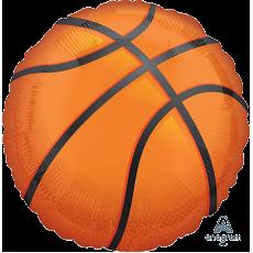 Round Basketball Fan Jumbo XL Shaped Balloon 71cm
