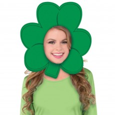 St Patrick's day Shamrock Foam Hat Head Accessorie