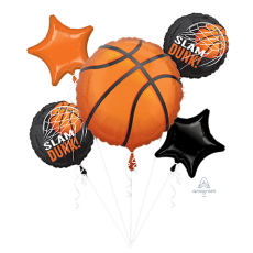 Basketball Fan Bouquet Foil Balloons
