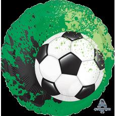 Round Standard HX Goal Getter Soccer Ball Foil Balloon 45cm