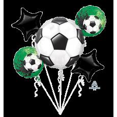 Soccer Bouquet Goal Getter Foil Balloons