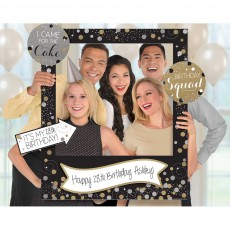Happy Birthday Sparkling Celebration Giant Photo Props