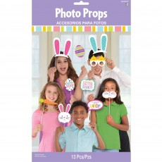 Easter Photo Props 35.6cm x 21.6cm Pack of 13
