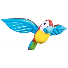 Hawaiian Luau Inflatable Parrot Shaped Balloon