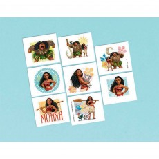 Moana Party Supplies - Favours Tattoos