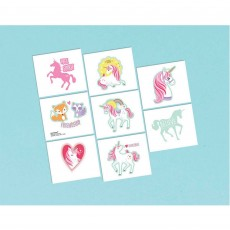 Magical Unicorn Tattoo Favours