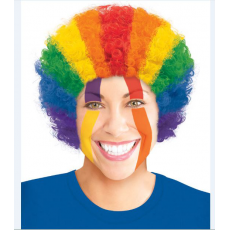 Rainbow Party Supplies - Curly Wig