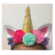Magical Unicorn Party Supplies - Deluxe Headband