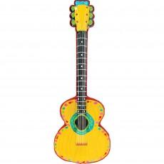 Fiesta Inflatable Mariachi Guitar Shaped Balloon
