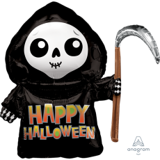 Halloween SuperShape XL Grim Reaper Shaped Balloon