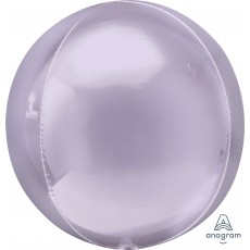 Lilac Party Decorations - Shaped Balloon Pastel Lilac 38cm x 40cm