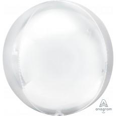 Orbz XL White Shaped Balloon