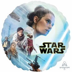 Star Wars Standard HX Episode 9 Rise of Skywalker Foil Balloon