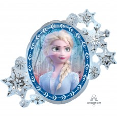 Disney Frozen 2 SuperShape Holographic Shaped Balloon